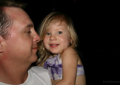 Bella and Daddy